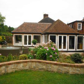 Extension, Side Garage & Landscaping in Hildenborough Kent