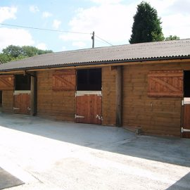 Stable Rebuild & Refurbishment