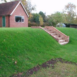 Rear Garden Landscaping in Seal Chart Sevenoaks Kent