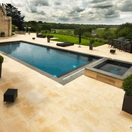 Extensively landscaped garden in Sevenoaks, Kent