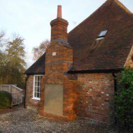 New Chimney Build in Plaxtol, Kent