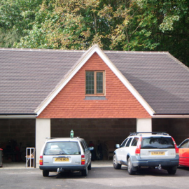 Triple Garage with Annexe, Sevenoaks