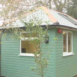 Fully Foundationed, Eco-styled, Super Insulated Garden Office