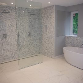 NEW Bathroom Interior in Shipbourne Kent
