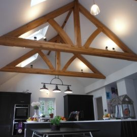 NEW Bespoke Oak Truss in Seal, Kent