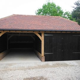 DOUBLE GARAGE TO MATCH AN EXISTING GARAGE